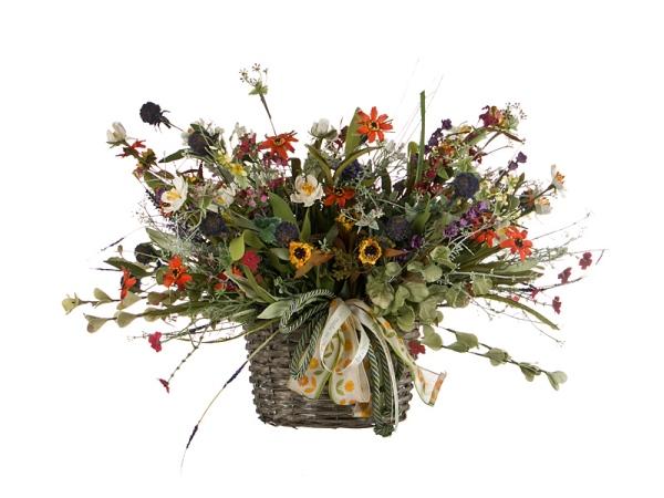 букет из искусственных цветов купить ситуация: пришел